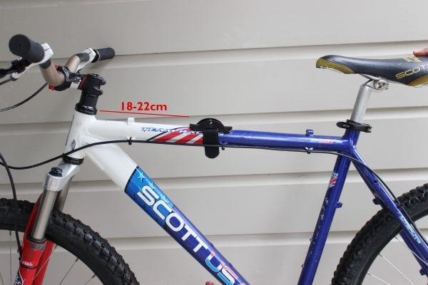 Standard fitting top tube doLittle goRide