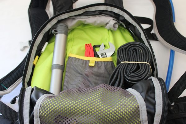 bike tools in camelbak