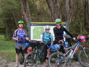 Planning and preparation for a 'great' mountain biking adventure on the Heaphy Track.