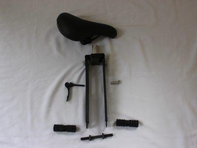 Shotgun Kids Mountain Bike Seat - parts. goRide