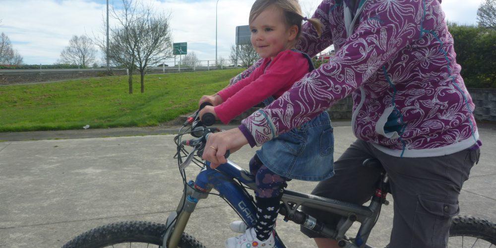Shotgun Kids Mountain Bike Seat. goRide