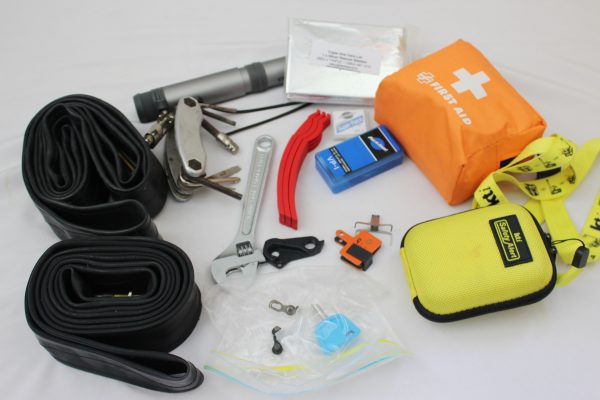 Tool kit first aid kit PLB Heaphy Track