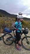 Bike tour with a touring saddle & 3/4 padded pant combo