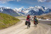 Touring saddle & fingerless glove combo - world touring