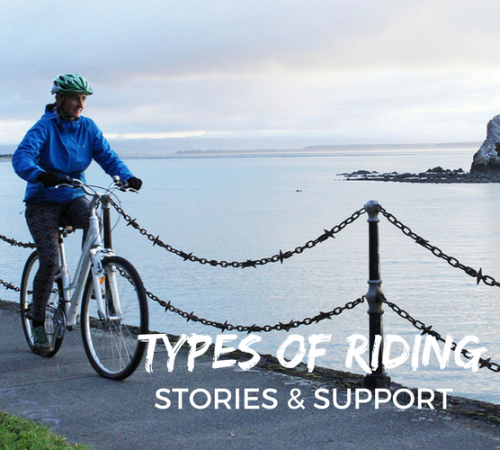 Types of Riding stories & support