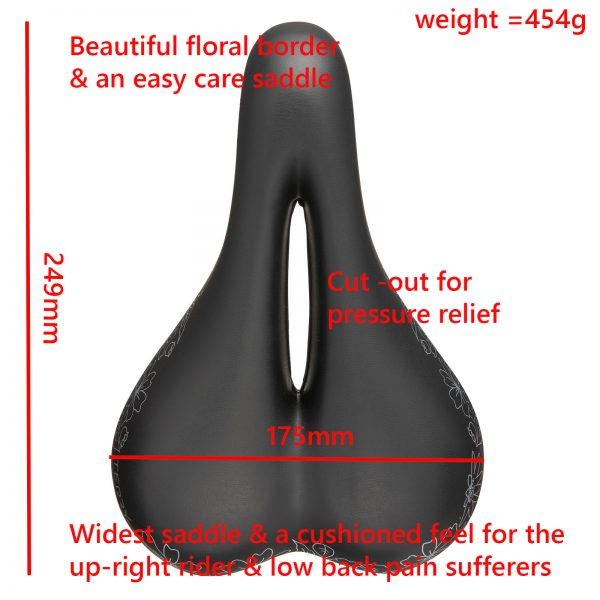 Womens saddle description Cite X Gel 2018 goRide