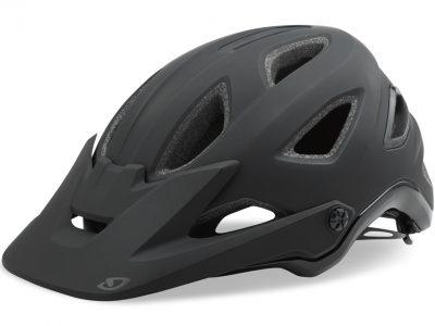Giro Montaro Mens mountain bike helmet. Matt Black. goRide