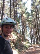 Womens mountain bike helmet - cross country riding