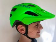 Kids/youth mountain bike helmet - great head coverage