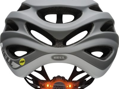 Performance Road Helmet. Rear view with LED light. goRide