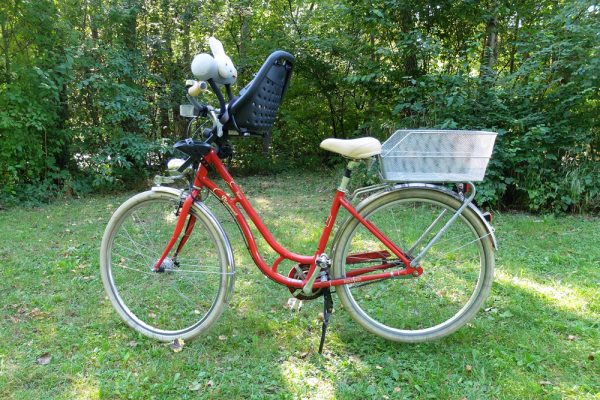 Yepp Mini & rear cargo basket. goRide