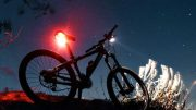 Bike light - rear - mountain bike riding