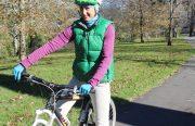 Winter glove - fleece - town riding
