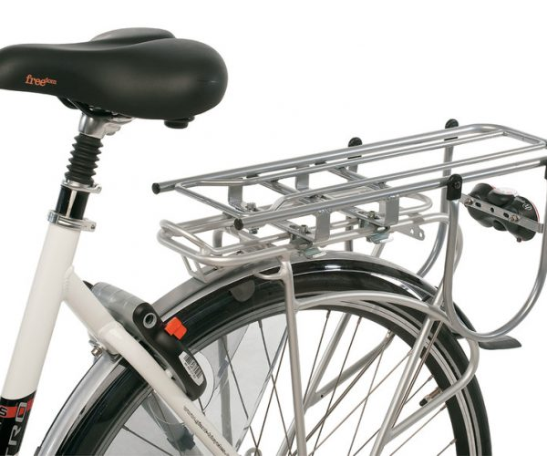 Thule Yepp Carrier XL on town bike. goRide
