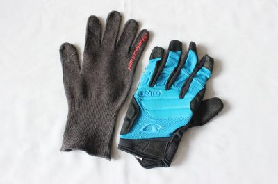 Winter warm bike glove bundle