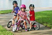 Cruzee balance bike - learning to ride