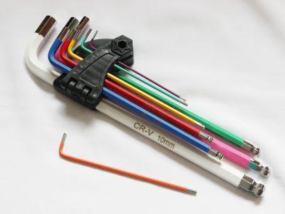 Allen key for handlebar grips. goRide