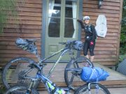 Multi day riding with a touring saddle & 3/4 padded pant combo