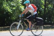 Endurance saddle & fingerless glove - tour riding