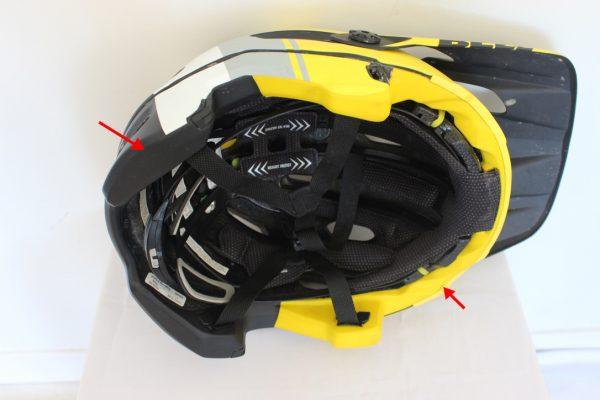 Performance helmets. Liner. goRide