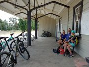 A family biking holiday in the Central Otago town – Naseby