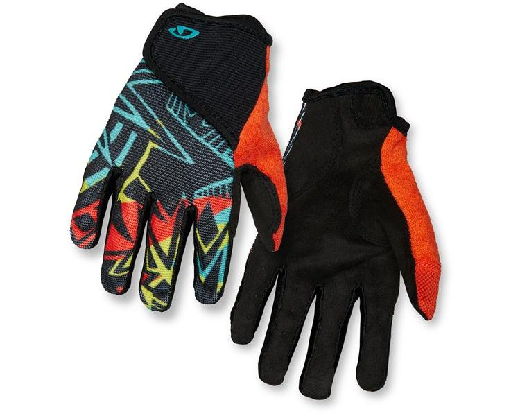 Kids Recreation FF Glove. Blast, front:back view. goRide