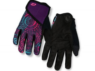 Kids Recreation FF Glove. Blossom front:back view.goRide