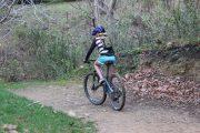 Kids backpack & mountain bike helmet - trail riding