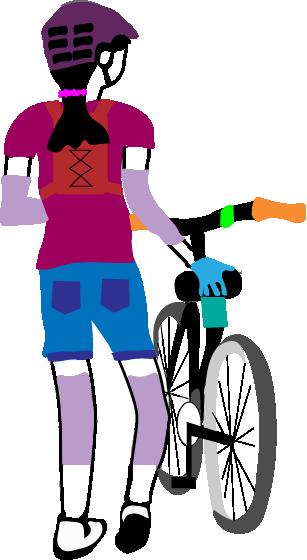 Youth Mountain Biker