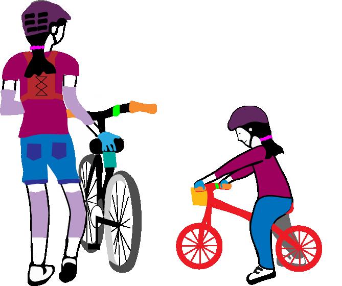 kids youth riding 2 Kids riding goRide