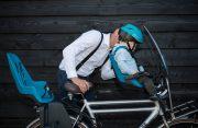 Front kids seat & windscreen - commute riding