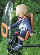 Front kids seat & windscreen - go explore