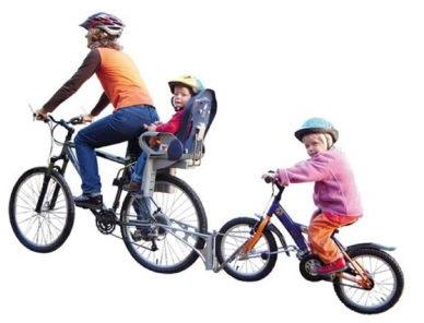 follow me tandem and rear bike seat