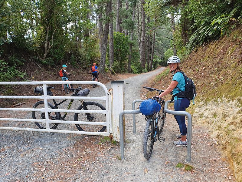 gates on Rimutaka Incline goRide