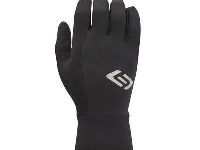 Winter glove. Top view. Black.goRide