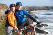 Visibility bike jacket or vest. Be seen