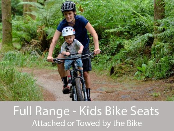 Kids Bike seat grid v2 grey bottom