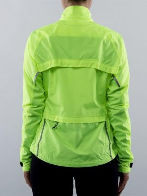Visibility Bike Jacket or Vest. Rear view hi-vis.goRide