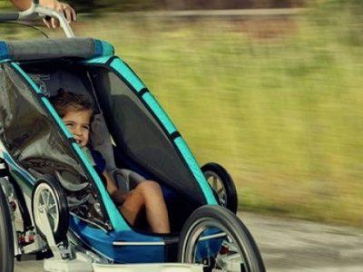 Bike trailers - running with kids. goRide