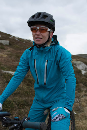 Waterproof Lightweight Jacket - Madison - on rider. goRide