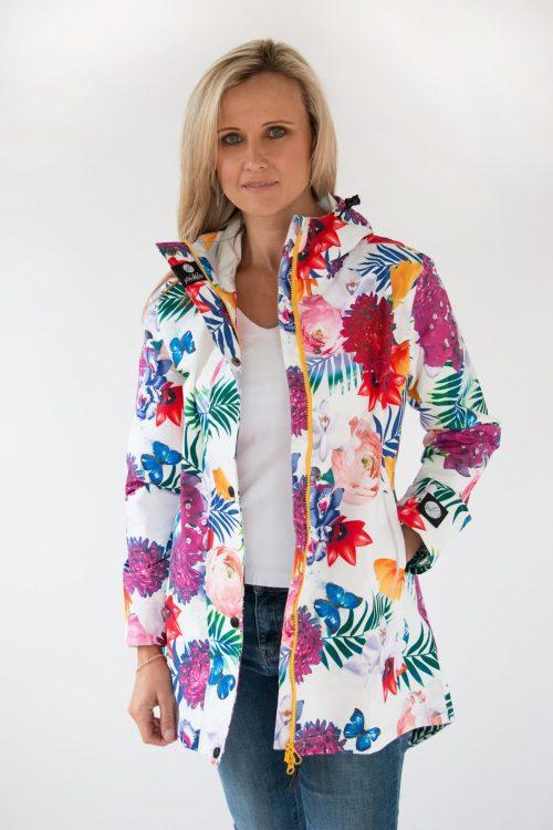 Scribbler botanic waterproof jacket