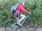 youth traffic helmet & visibility light set - school commute